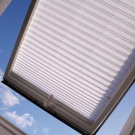 Plisy na Oknie Dachowym